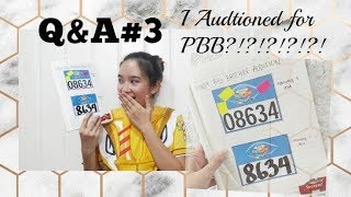 Q&A#3: I Auditioned for PBB?!?!?!?! My Review Techniques?