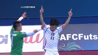 Malaysia 4-5 Chinese Taipei (AFC Futsal Championship 2018: Group Stage)