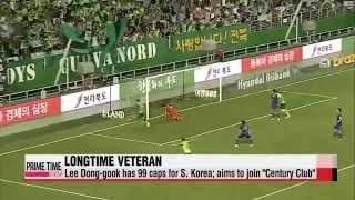 South Korea′s Lee Dong-guk returns to national team   이동국, 한국대표팀 복귀