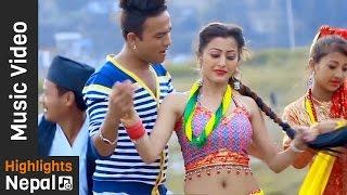 Hamro Kalinchowk | New Nepali Lok Adhunik Song 2017/2073 | Amrit Khati, Smriti Shahi