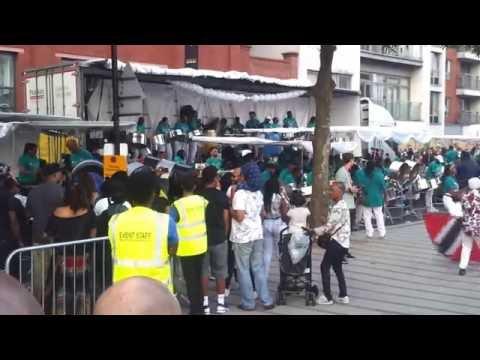 Notting Hill Carnival UK National Panorama 2016 Ebony Steel Band