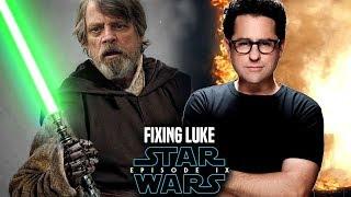 Star Wars Episode 9 JJ Abrams Plan To Fix Luke In Episode 9! (Star Wars News)
