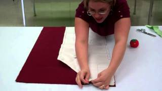 Making an Apron: Step 1 Cutting Out the Fabric