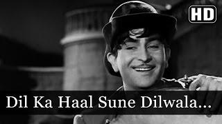 Dil Ka Haal Sune Dilwala - Raj Kapoor - Shree 420 - Bollywood Evergreen Songs - Manna Dey