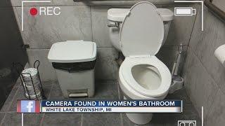 Camera found in women's restroom