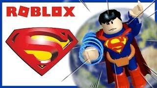ROBLOX INDONESiA   KEKUATAN SUPERMAN YG SEBENARNYA x BiSA TERBANG ?? 😂