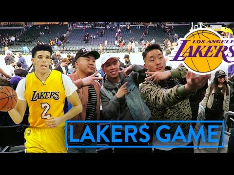 LAKERS NEED LONZO BALL RIGHT NOW Lakers Game VLOG