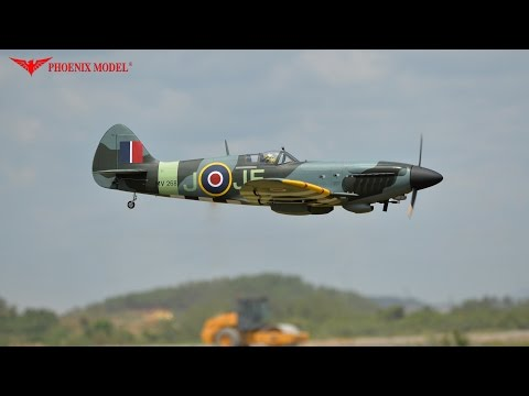 SPITFIRE GP/EP Size 50-61cc Scale 1:4 ¾ ARF PH171 PHOENIXMODEL