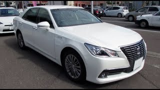 2013 New TOYOTA CROWN RoyalSaloon HYBRID - Exterior & Interior