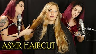 Madison Gets A Real Haircut w/ Binaural Audio - Scissor & Spray Sounds Tingles