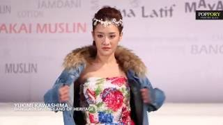 Fashion Show YUKIMI KAWASHIMA Bangladesh-Thailand of Heritage Show