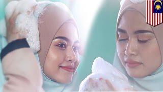 Iklan lucu hijab shampoo dari Malaysia, jadi viral