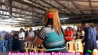 Anastacia Mukabwa Watangoja sana performance at Shelter Of Love Church