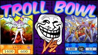 Yugioh Troll Bowl #2- LINK KRAWLERS vs SIMOCHI TROLL DECK!