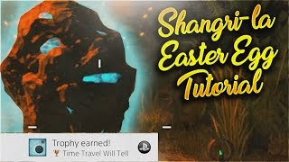 SHANGRI-LA REMASTERED *EASY* EASTER EGG TUTORIAL - Black Ops 3 Zombies Chronicles Tutorial Guide