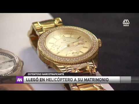 Narco llega en helicóptero a su boda / Ahora Noticias / Mega