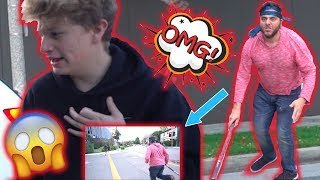 A Stranger Attacked Me!