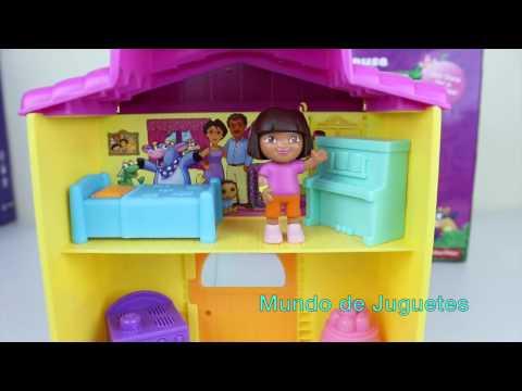 La Casa de Dora la Exploradora Dora la Exploradora en Español Mundo de Juguetes