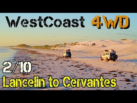 [4WD] Perth to Darwin, off road  - ep 210 - Lancelin to Cervantes