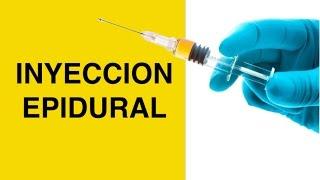 Inyeccion Epidural Para Dolor de Espalda y Ciatica - Inyecciones de Esteroides / Cortisona