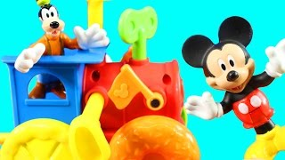 Learn Colors Educational Fun With Disney Junior Mickey Mouse Club House Deluxe Mouska Maker
