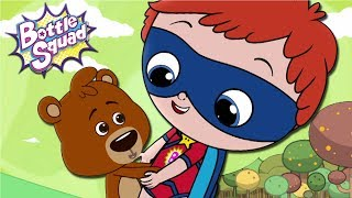 A Bear Balancing Act | Cartoons For Children | Superheroes | Videos For Kids | Bottle Squad Videos