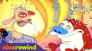 Ren and Stimpy's Grossest Moments | The Ren & Stimpy Show | The Splat