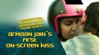 Armaan Jain's first on-screen kiss |  Lekar Hum Deewana Dil | Armaan Jain & Deeksha Seth
