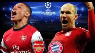 دوري ابطال اوربا بارين ميونيخ يواجه ارسنال في ملحمه كرويه Bayern Munich vs Arsenal 7-3-2017