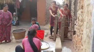 Dhiki  Traditional Grinding mill in Nepal