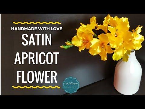 Xxx Mp4 DIY Satin Apricot Flower MyInDulzens 3gp Sex