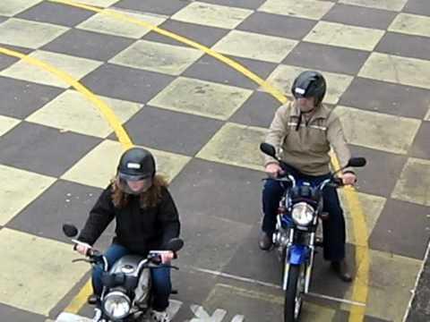Simulado de prova para categoria A Moto