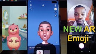 How to Create and Use AR Emoji Galaxy S10,S10 Plus