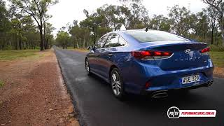 2018 Hyundai Sonata 2.0T (8-spd) 0-100km/h & engine sound