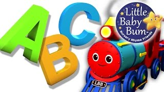 ABC Song | ABC Train Song | Nursery Rhymes | Original Song by LittleBabyBum!