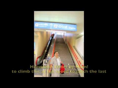 Okinawa - Mom's Steep Stair Climb