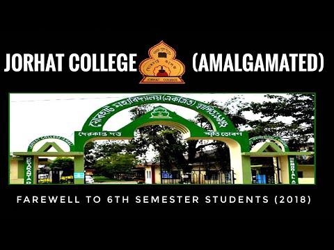 Xxx Mp4 Farewell To 6th Semester Students 2018 Jorhat College Amalgamated Jorhat 3gp Sex
