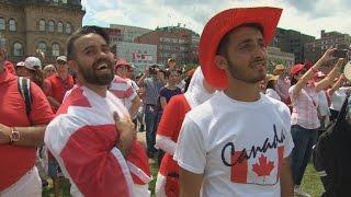 Syrian family celebrates 1st Canada Day