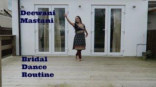 Deewani Mastani  Easy steps  Bridal Dance Routine  Bajirao Mastani