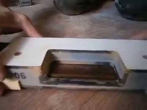 Шаблон для врезки петель