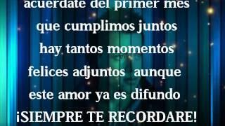 ❤¿Recuerdas_...Acuerdate❤ - [Rap romántico] - mc richix(letra )