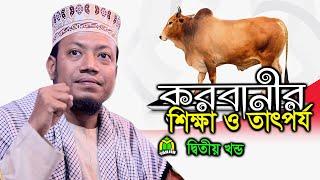 কুরবানী বিধানসমূহ নিয়ে মুফতী আমীর হামজার গুরুত্বপূর্ণ বক্তব্য । New Bangla Waz Mufti Amir Hamza ।
