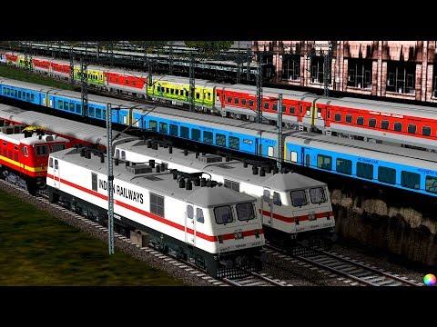 Xxx Mp4 Howrah Ranchi Shatabdi Express In MSTS 🔥 HWH WAP7 Indian Train Simulator 3gp Sex