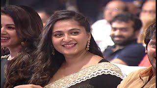 Actress Anushka Shetty Grand Entry at Size Zero Audio Launch | Anushka Shetty | Arya