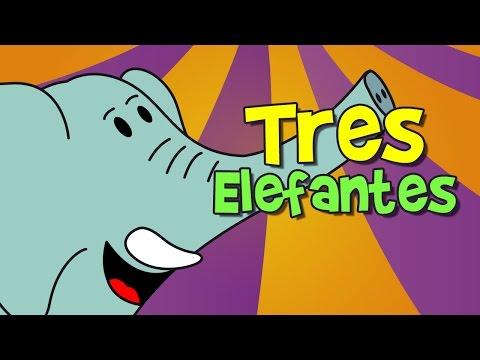 tres elefantes se balanceaban canción infantil