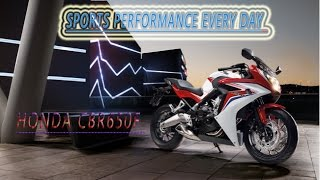HONDA CBR650F ABS SPORTS PERFORMANCE EVERY DAY ONLY ON YOUTUBE VIDEO