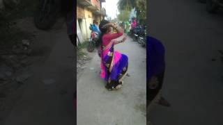 Desi village bhojpuri song dance