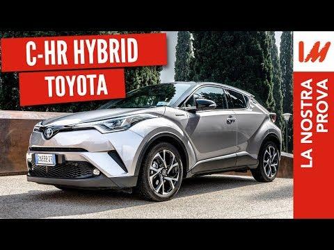 Prova Toyota C HR 2018 l'ibrido con tanto stile e pochi consumi 26Km l