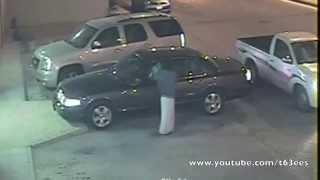 محاولة سرقة سيارة فورد في الرياض