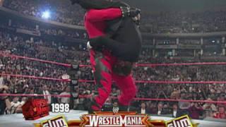 WrestleMania Recall: Kane Tombstones Pete Rose at WrestleMania XIV